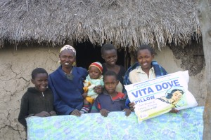 Matanya's Hope built us a new home.  They gave us all we needed to be comfortable.