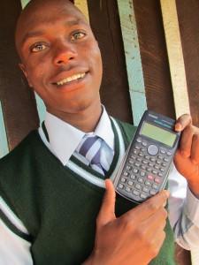 Matanya's Hope gave me everything : even this wonderful calculator!