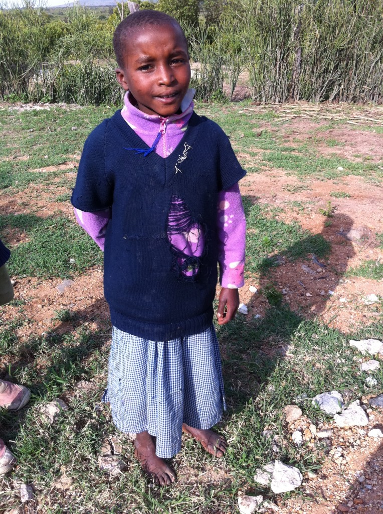 This precious child is Faith, 20011.  Today she and her brother Francis are sponsored by Matanya's Hope and is thriving in school.