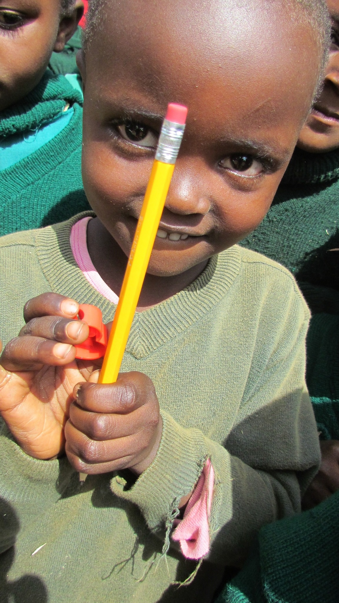 Every pencil you donate reaches a child in need.