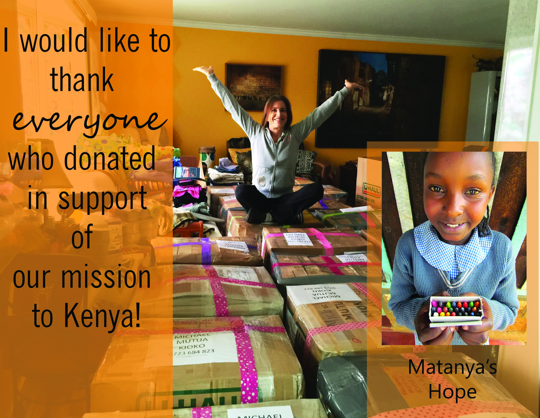 Thank you EVERYONE who donated in support of our Mission