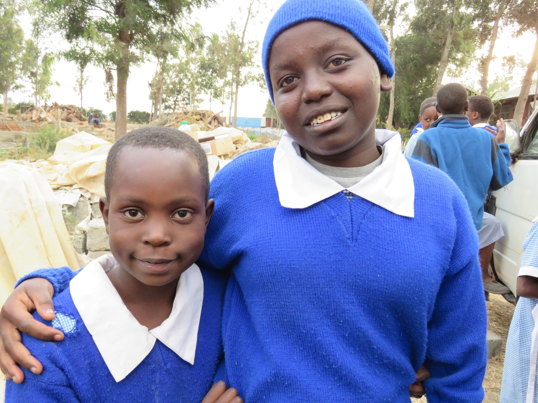 "Annitah and her Sintoyei, sponsored by the same couple, now call themselves ""sisters""."