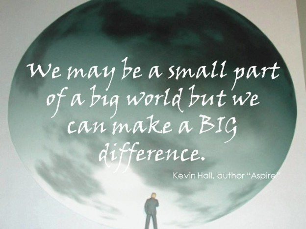 We may be a small part but we make a big difference!