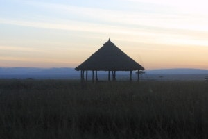 As the sun sets in the Masai Mara, children sleep.  There is no electricity to provide light for studies.
