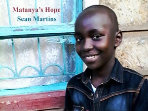 Sean Martin, pictured after spending a day with Matanya's Hope Mission Team
