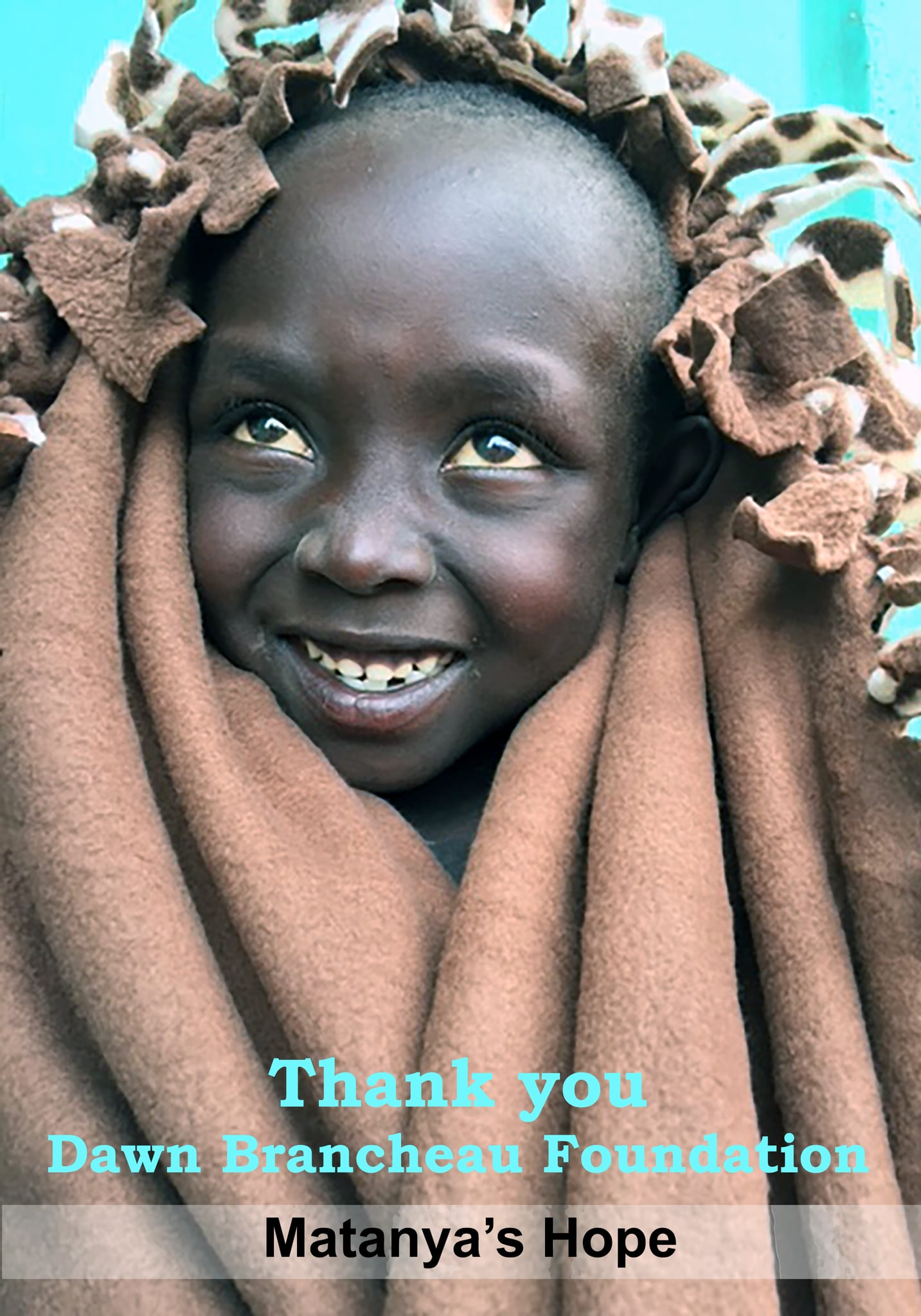 """""""We were able to hand out more than a ton of blankets and clothes to those in need."""""""