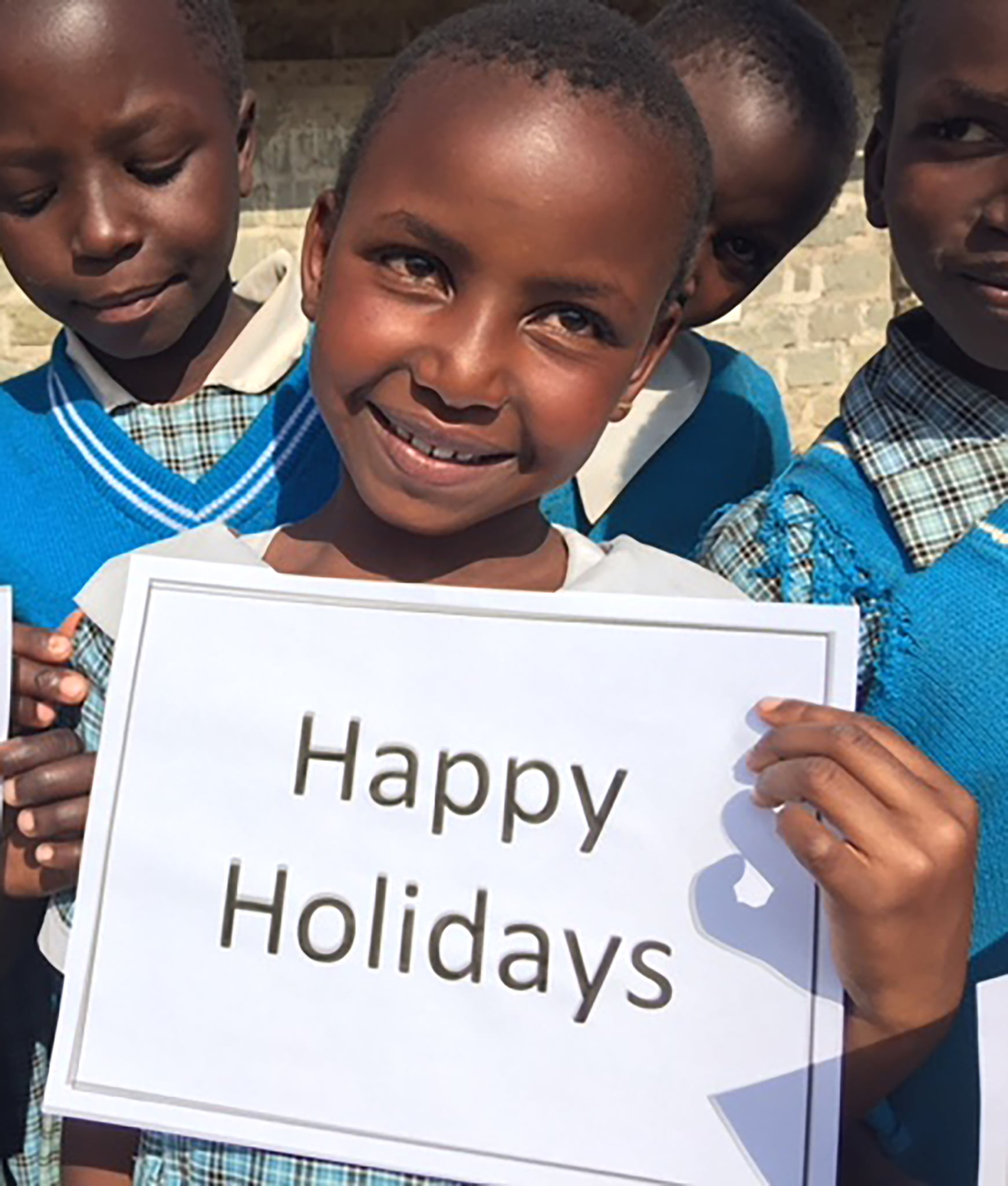 With much love from our precious student, Michelle Wangechi and all of those we humbly serve through Matanya's Hope.