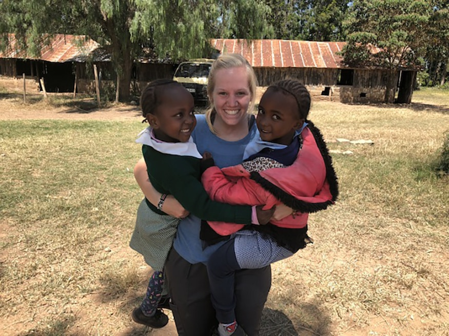 Mission participant Emily and the team of 6 friends traveling from their USA University showered the children with faith, hope and love.  In so doing, all of us were transformed.