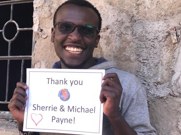specs & Thank you sherrie & Michael Payne