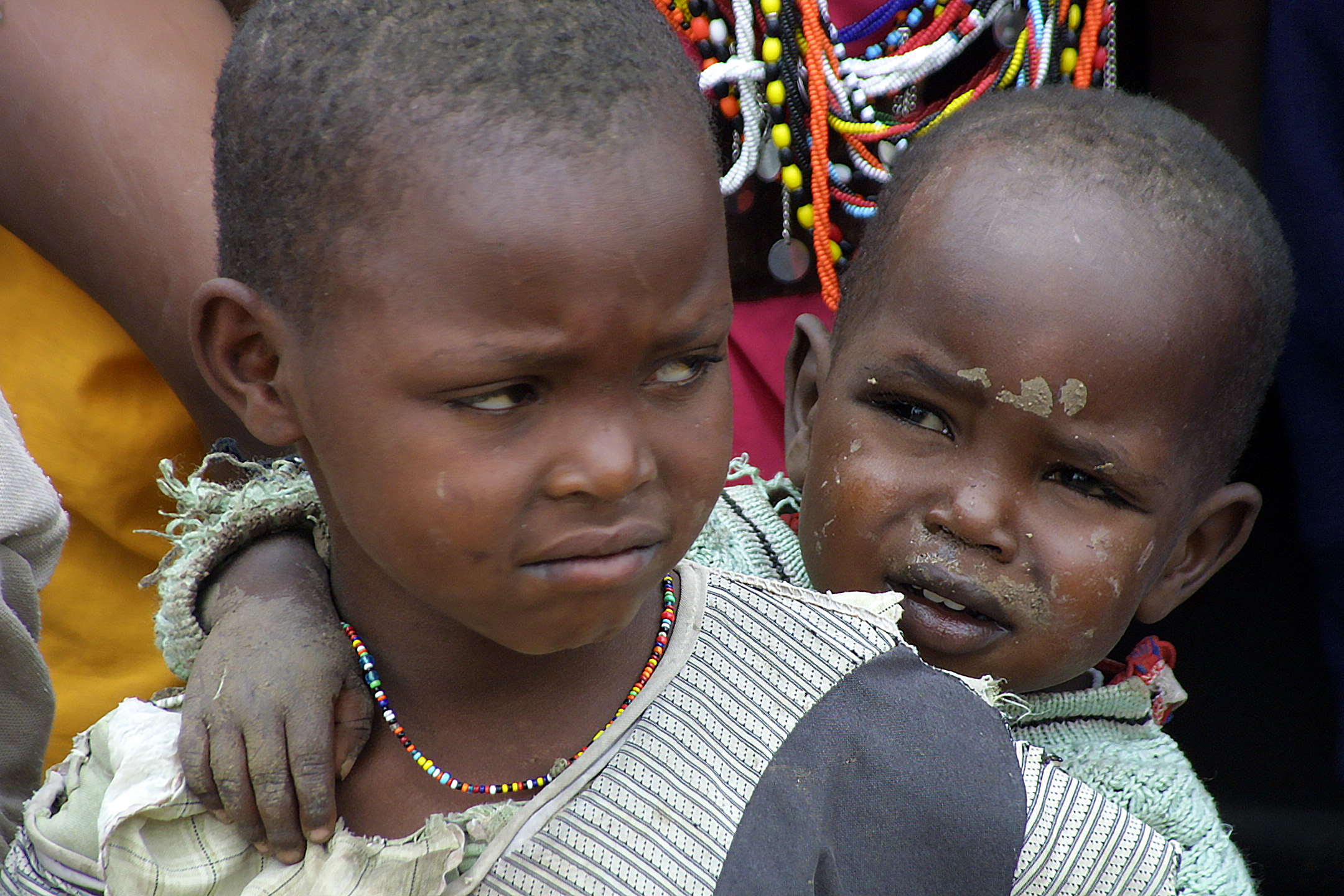 Girls as young as 9 years old are forced to undergo female genital cutting.  (FGM)  Once healed, they are sold into marriage and may become one of many wives in an older man's collection.