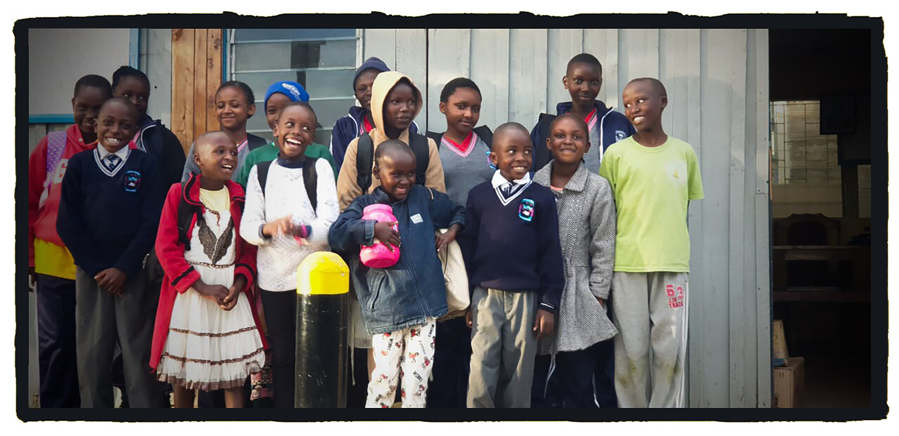 These children were sponsored last year.  Among them are Erick & Alan's siblings.