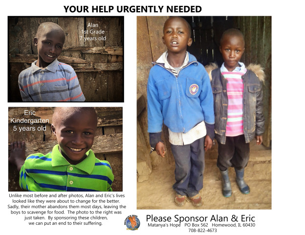 Sponsorship Poster Alan & Eric 2019 - DESPERATELY NEED SPONSORS