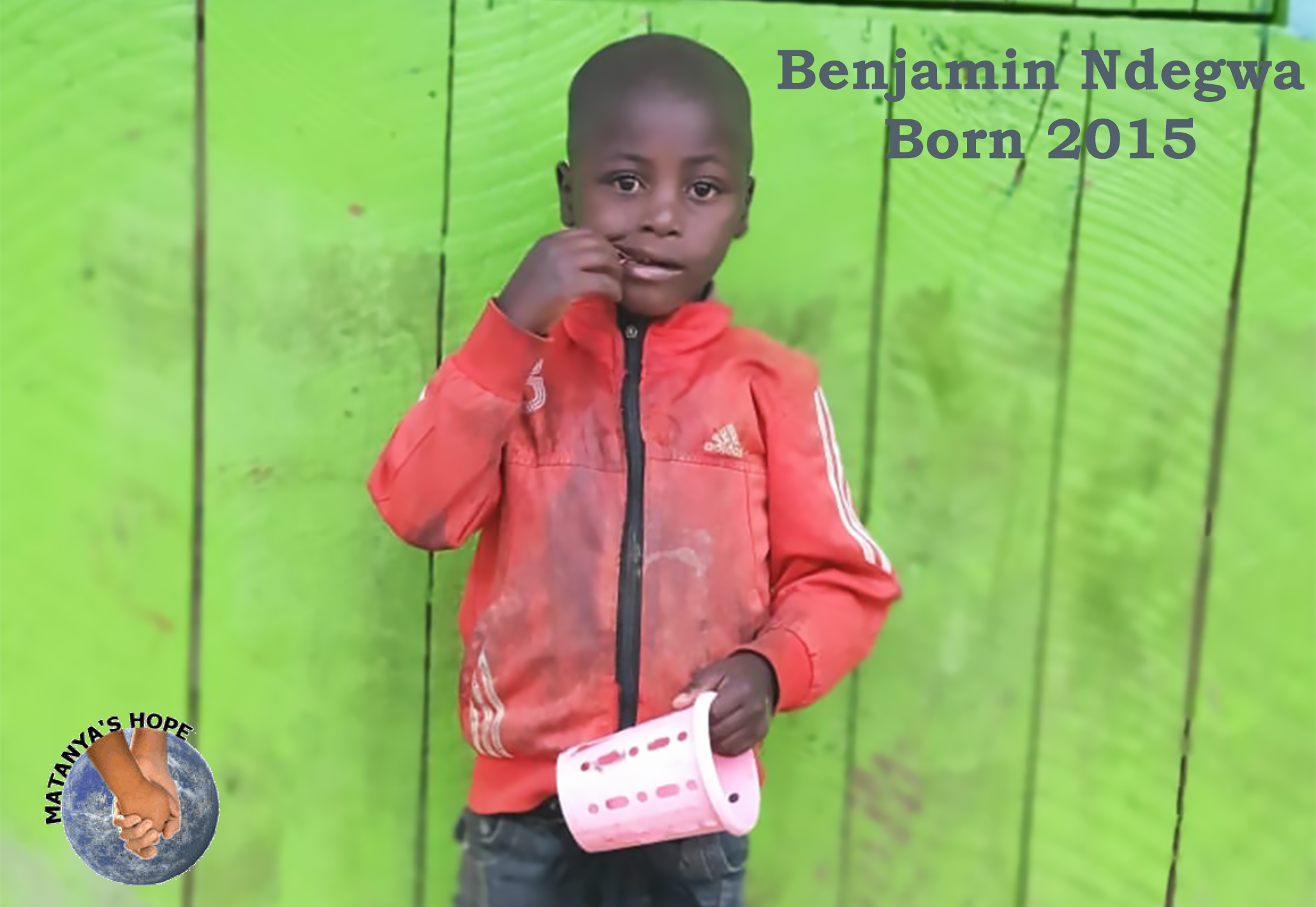 Benjamin and his siblings Simon, Mercy and a baby sister are forced to feed from trash for their very survival.