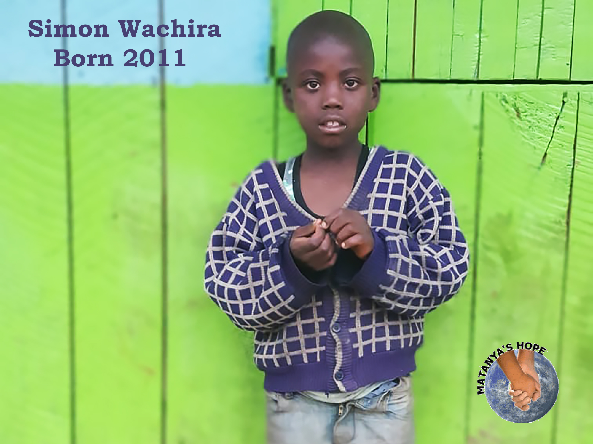 Simon is hungry.  He watches over his 3 siblings as they fend for food on the streets.  You can HELP Simon today by donating funds to feed him and send him to school.